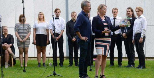 Peter Kær, Gitte Ørskou